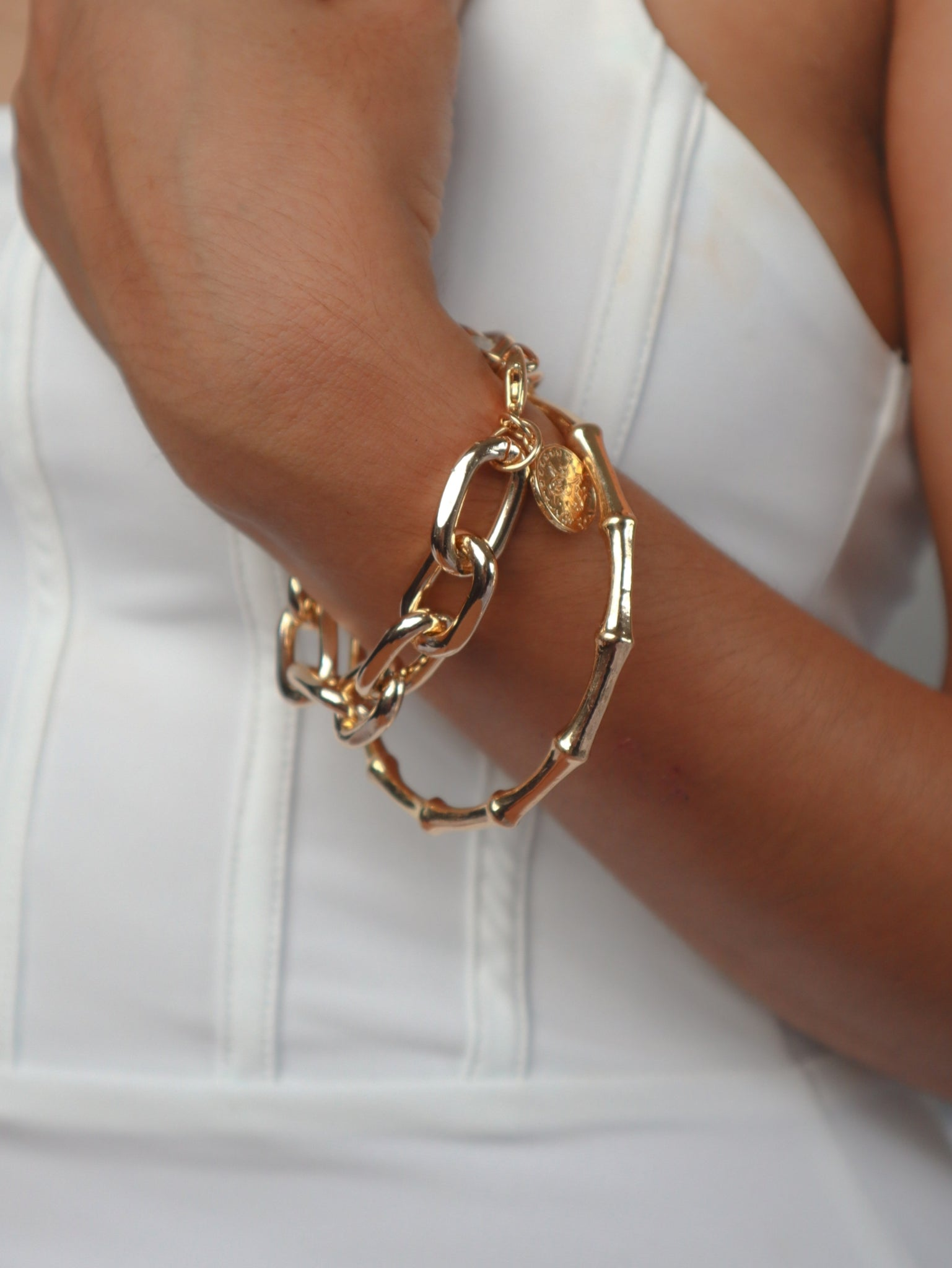 Bamboo Bracelet Bangle Set
