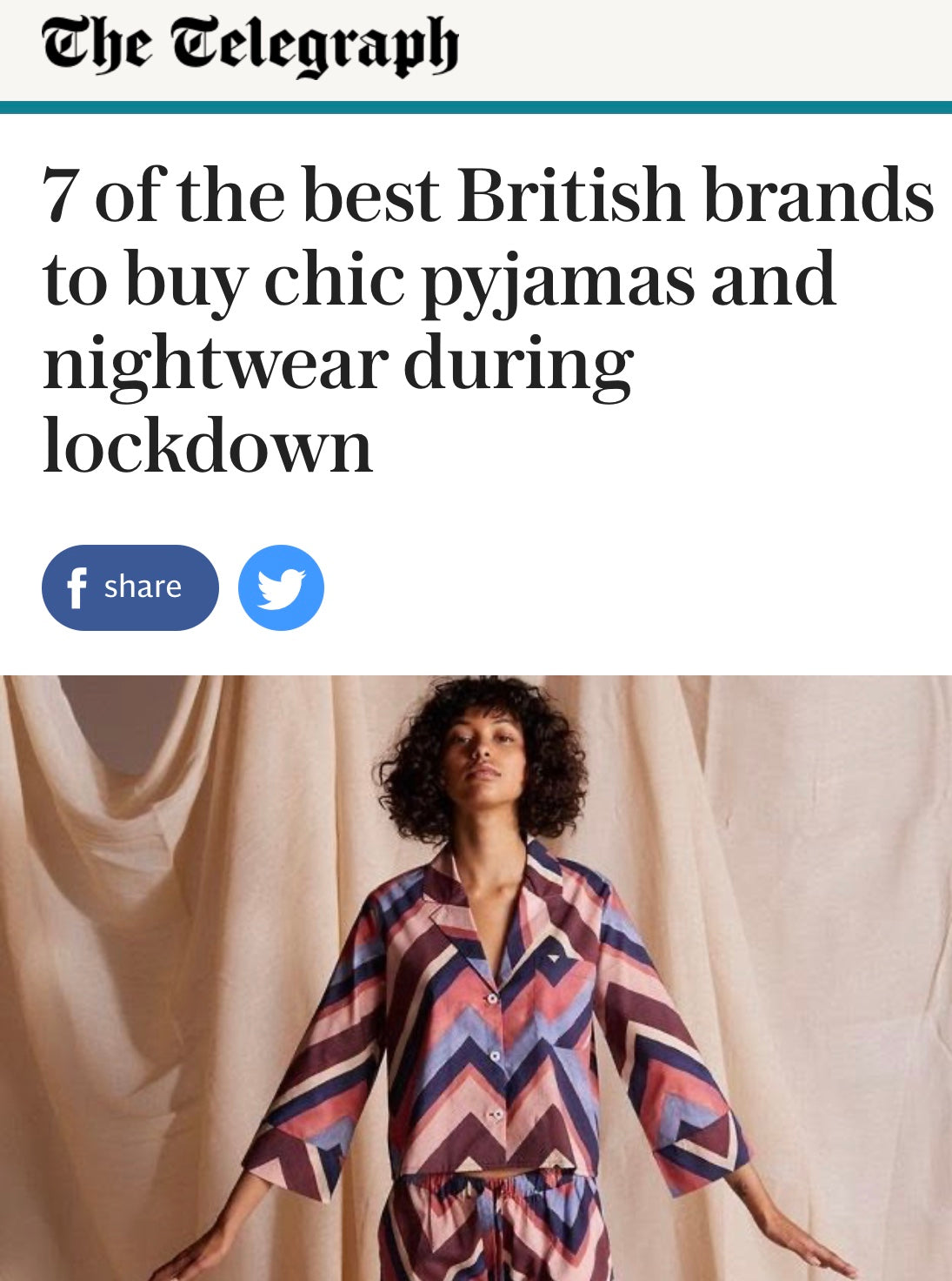 7 of the best British brands to buy chic pyjamas and nightwear from