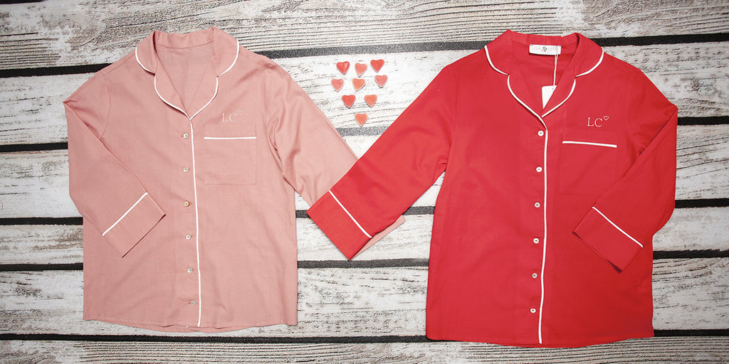 Valentine's Day Personalised Pyjamas