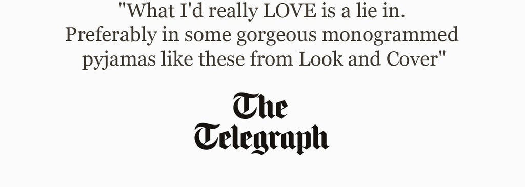 Testimonials made by The Telegraph put on a white background