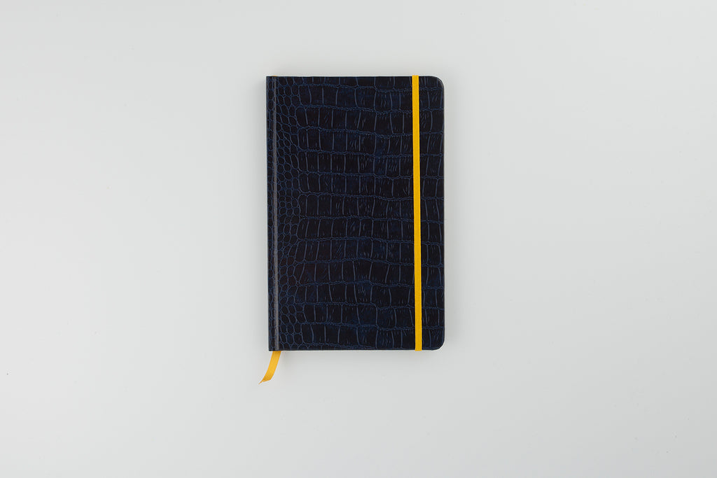 The Mock Croc Notebook Midnight