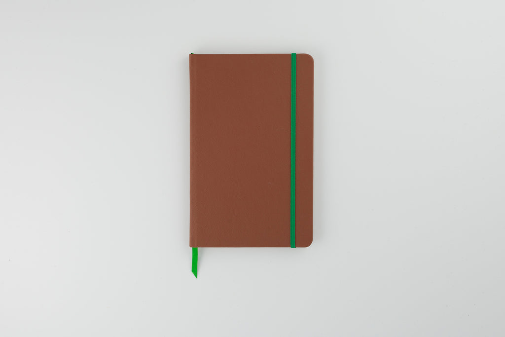 The Luxury Leather Notebook Conker