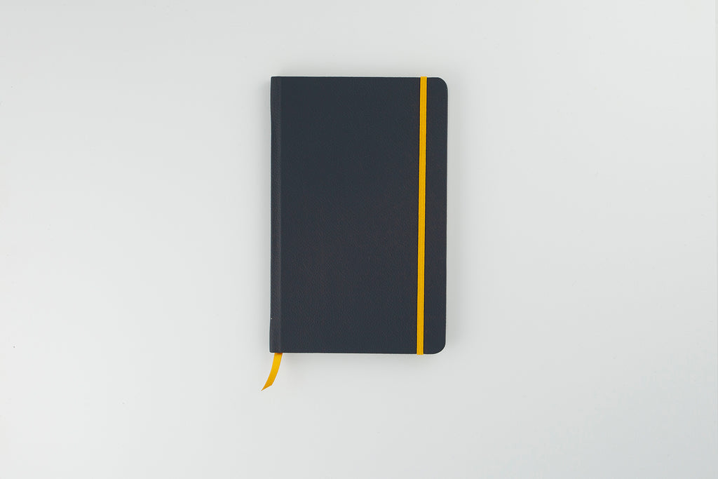 The Luxury Leather Notebook Midnight