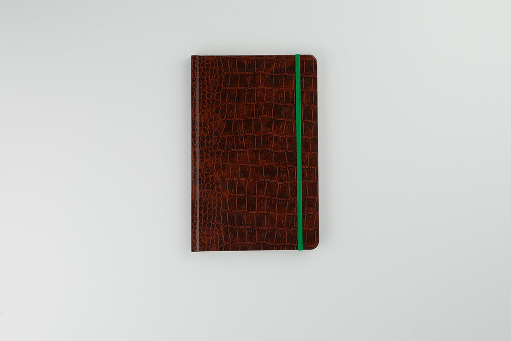 Mock Croc Personalised Notebook