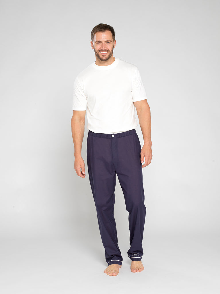Personalised Men's Long Pyjama Bottoms