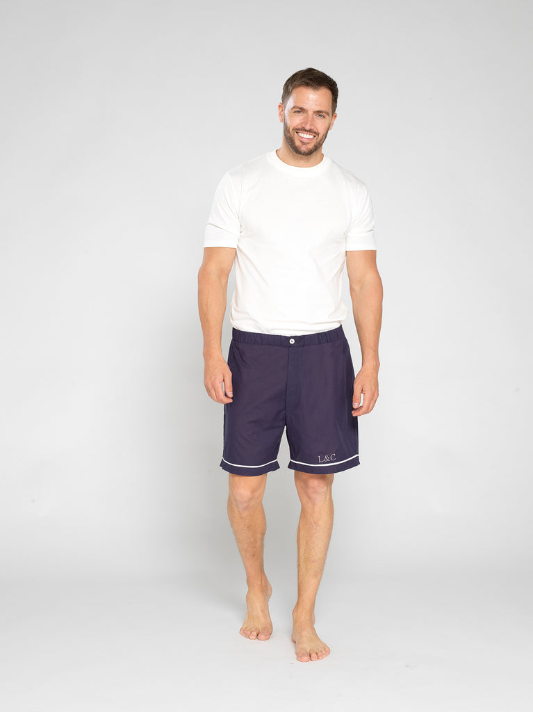 Personalised Men's Pyjama Shorts