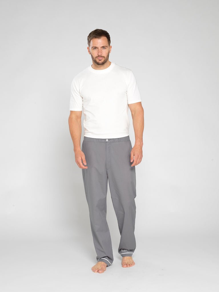 Men's Slate Long Pyjama Pants