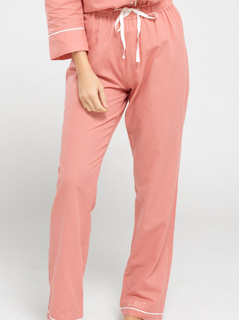 Personalised Women's Long Pyjama Bottoms