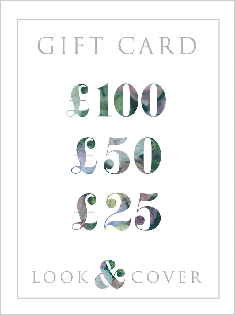 The Look & Cover Gift Card