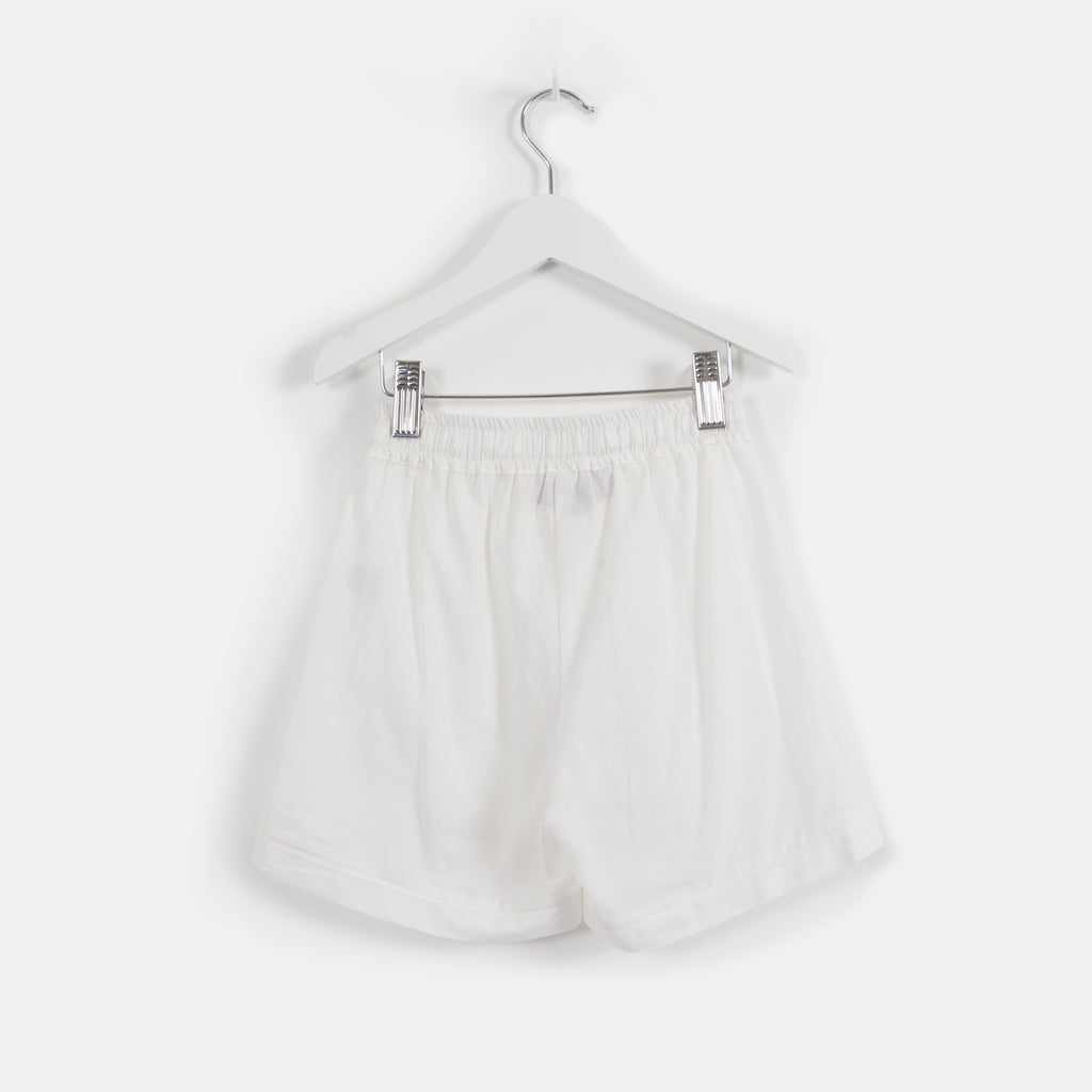 Cloud White Luxury Monogrammed Children's Pyjamas | Look & Cover