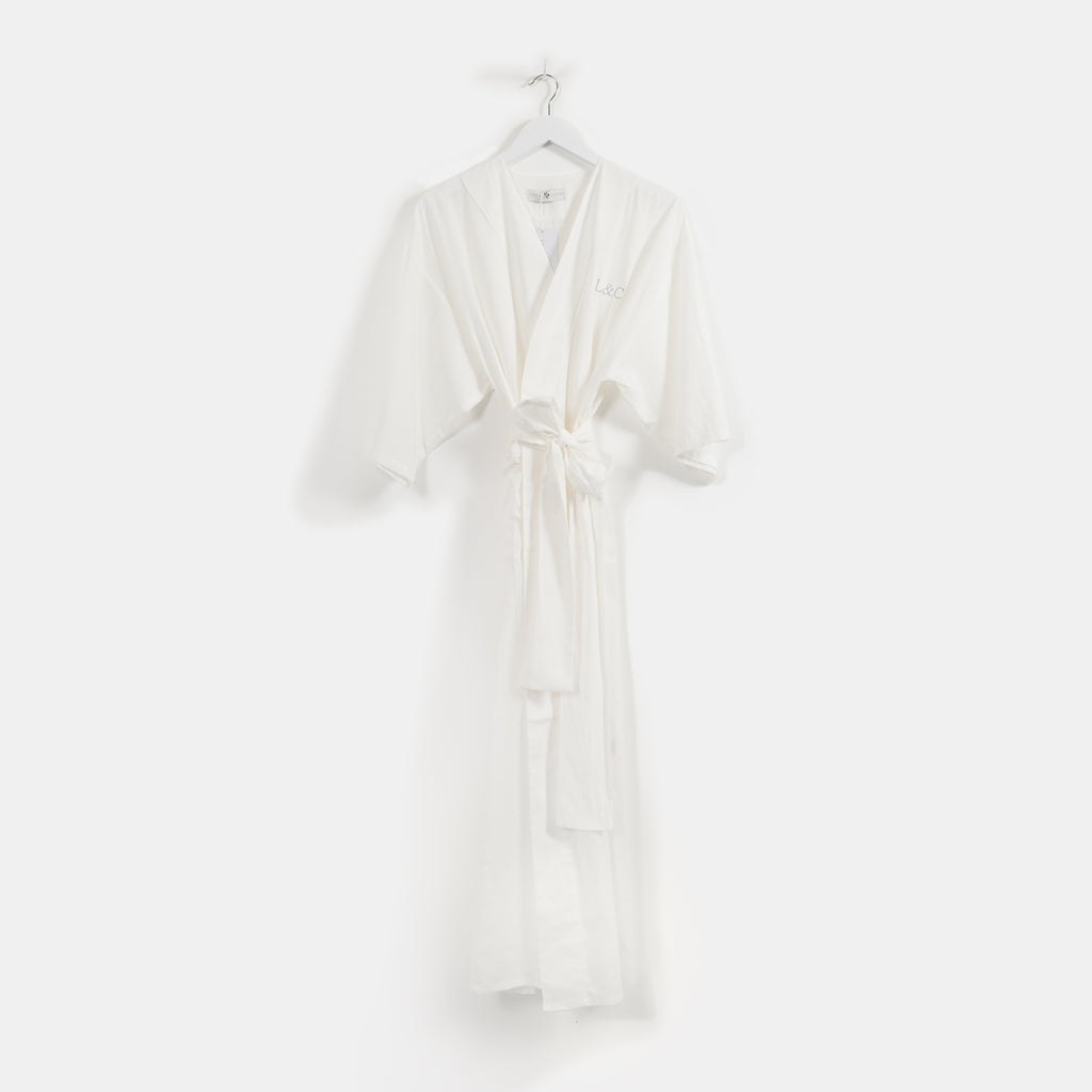 Personalised Women's Bridal Robe