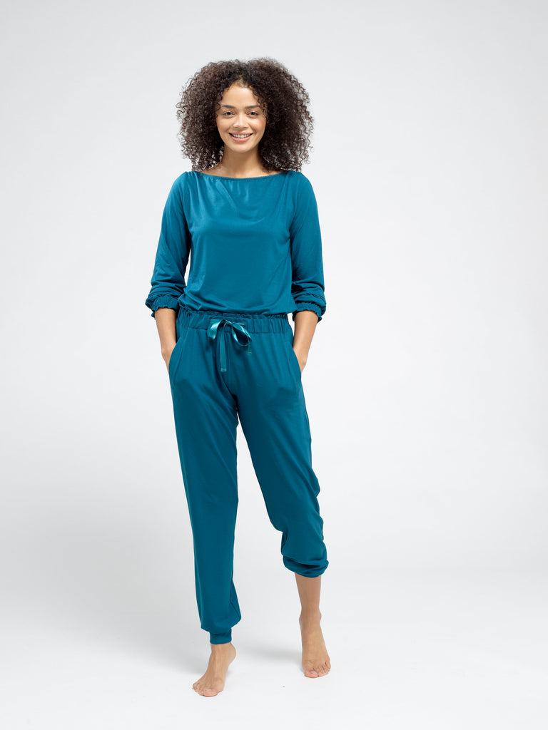 Peacock Jersey Pyjama Bottoms
