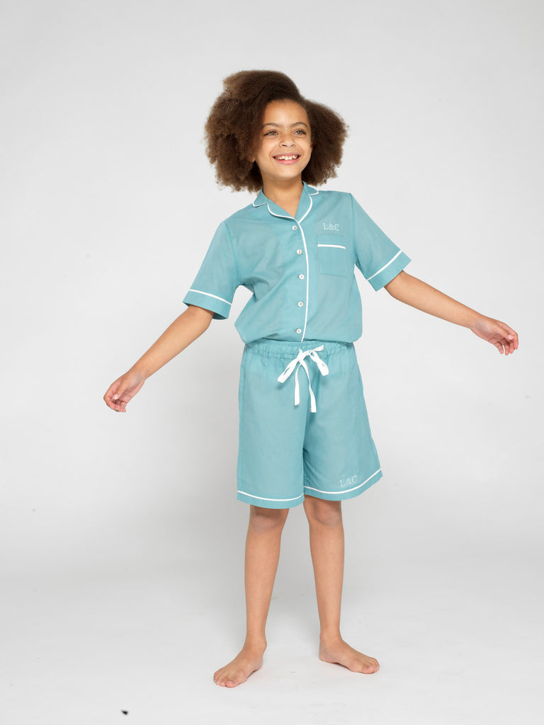 Seafoam Children's Pyjamas