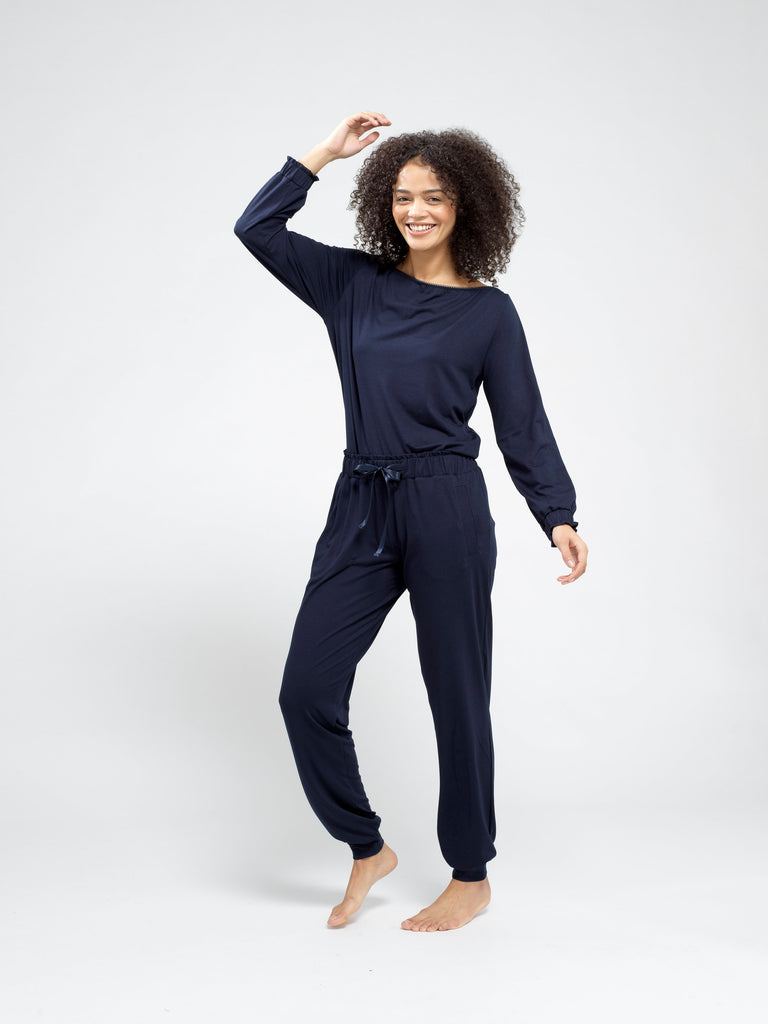 Personalised Women's Jersey Pyjama Bottoms