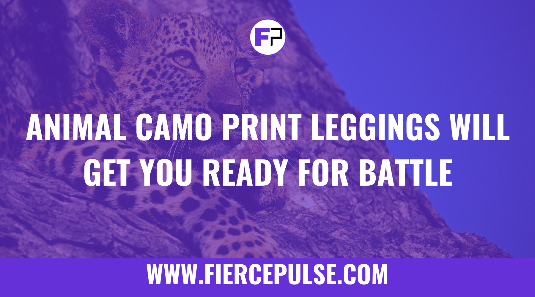 Animal Camo Print Leggings Will Get You Ready for Battle
