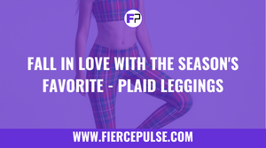 Fall in Love With the Season's Favorite - Plaid Leggings