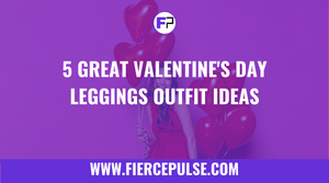 5 Great Valentine's Day Leggings Outfit Ideas