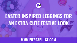 Easter Inspired Leggings for an Extra Cute Festive Look