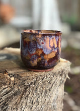 Load image into Gallery viewer, Rustic Copper - Handmade Pottery Ceramics Espresso Mug -6 oz - Hsiaowan Studios Handmade Ceramics Pottery