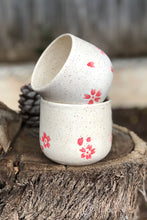 Load image into Gallery viewer, Made to order Creamy Sakura - Cherry Blossom Mug 10 oz - Hsiaowan Studios Handmade Ceramics Pottery