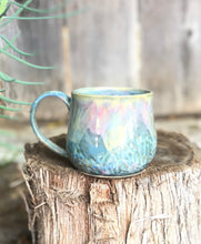 Load image into Gallery viewer, Large Opal Mug - Dreamy Soft Color Ceramic Mug 17 oz - Hsiaowan Studios Handmade Ceramics Pottery