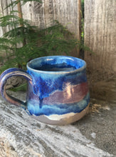 Load image into Gallery viewer, Hsiaowan Studios Handmade Small Ceramic Coffee Espresso Mug - Purple Soul Drippy - Hsiaowan Studios Handmade Ceramics Pottery