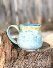 Load image into Gallery viewer, Minty Green Ceramic Coffee Mug 12 oz - Hsiaowan Studios Handmade Ceramics Pottery