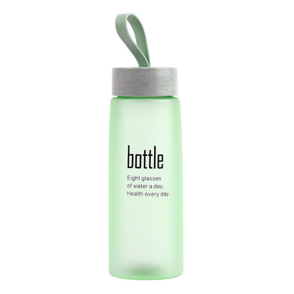 520 Ml Frosted Designer Water Bottle