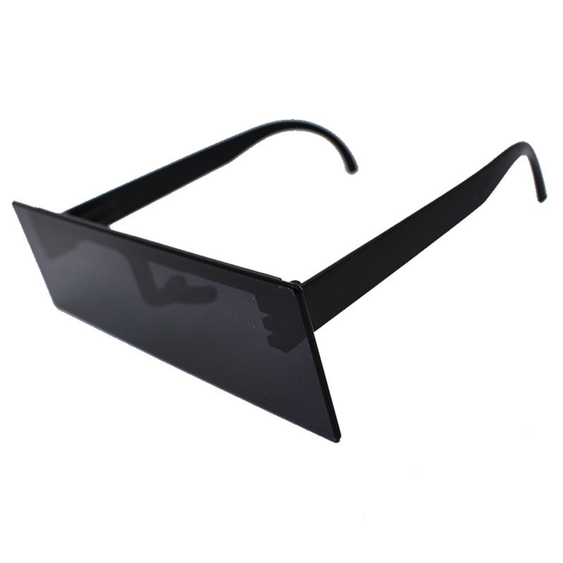 Flat Rectangular Clout Sunglasses