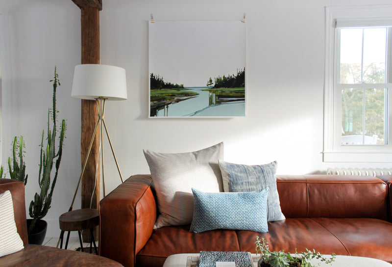 Marsh | Print on Canvas | Reproduction of Original
