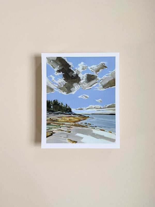 Cranberry Island Study 3 | Print on Canvas | Reproduction of Original