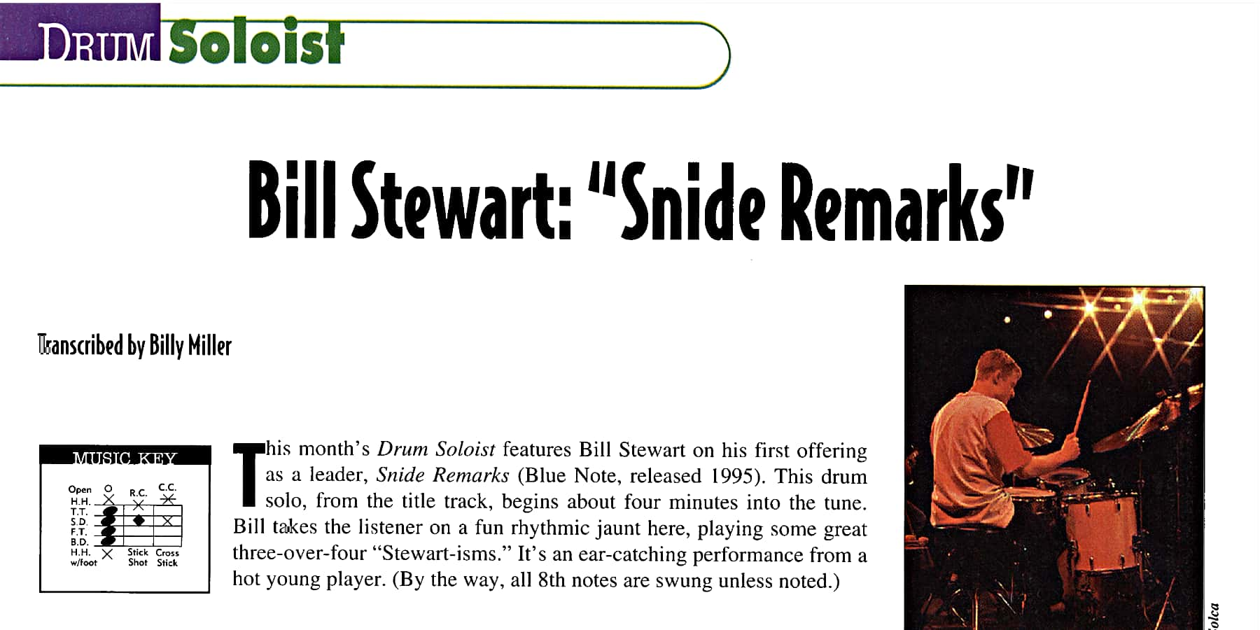 """Snide Remarks"" by Bill Stewart"