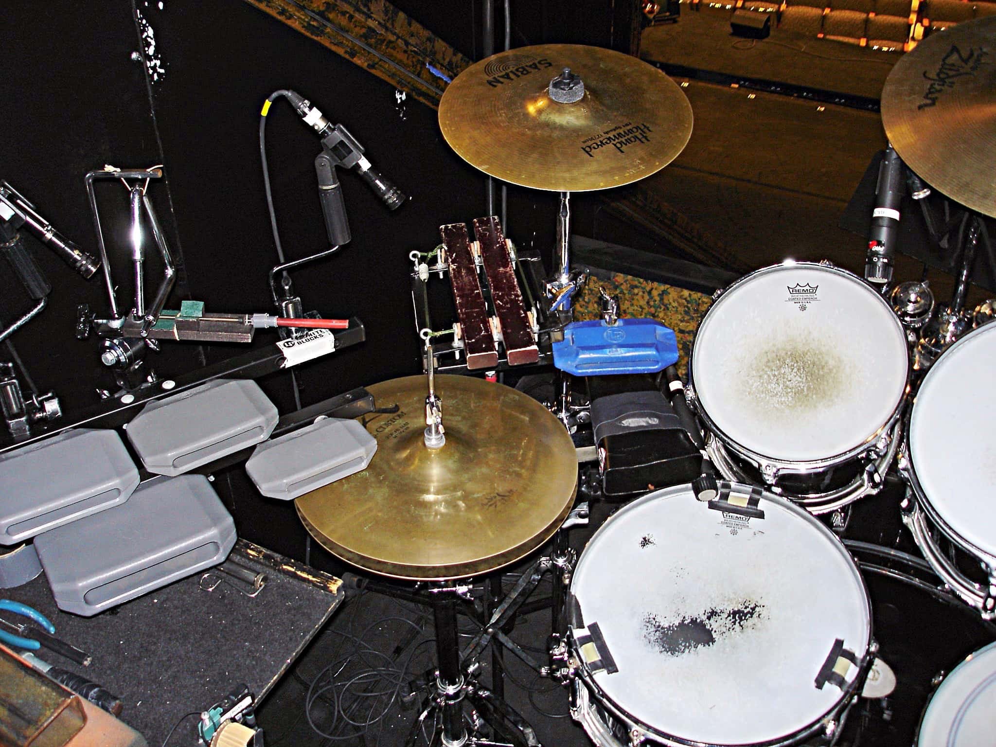 Cubby O'Briens setup for the National Tour of Chicago at the Majestic Theatre in San Antonio, Texas.