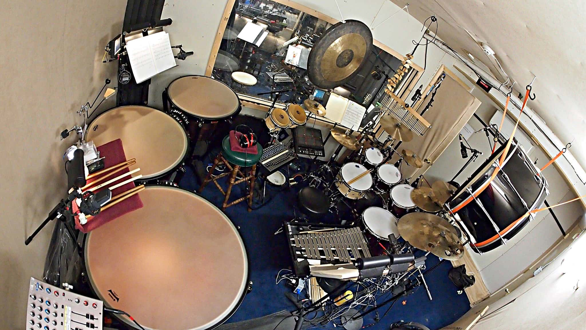 Howard Joines' setup from the 2013-2017 Broadway production of Matilda at the Shubert Theater.