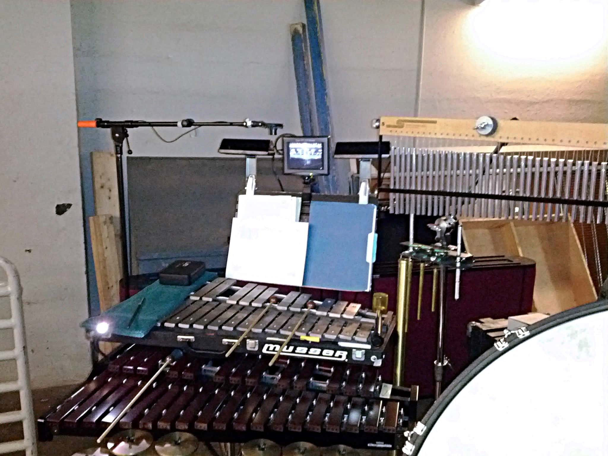 Eric's Borghi's setup for the US and Canada touring production of Les Miserables.