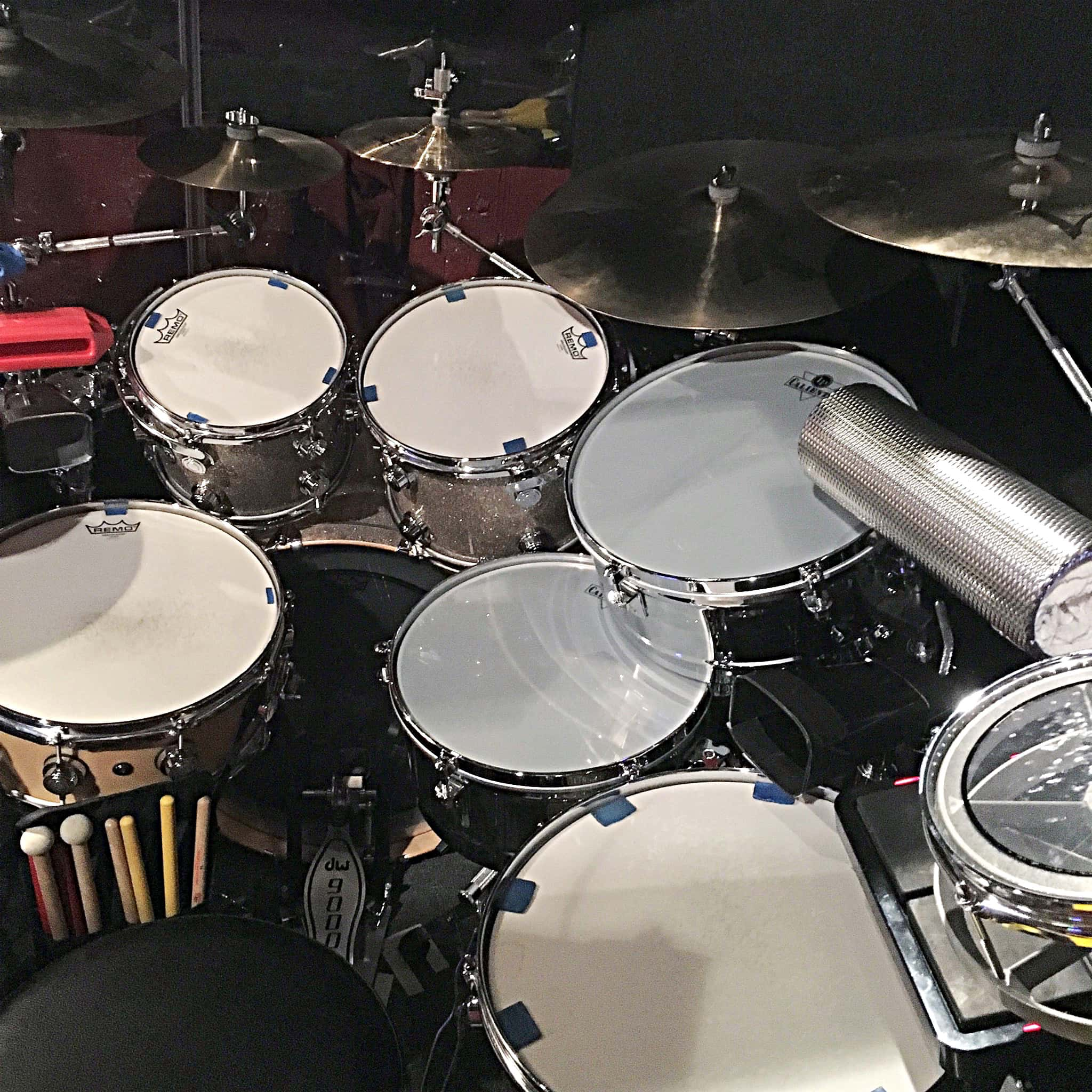 Brett Beiersdorfer's setup for In The Heights at the CM Performing Arts Center in Oakdale, New York.