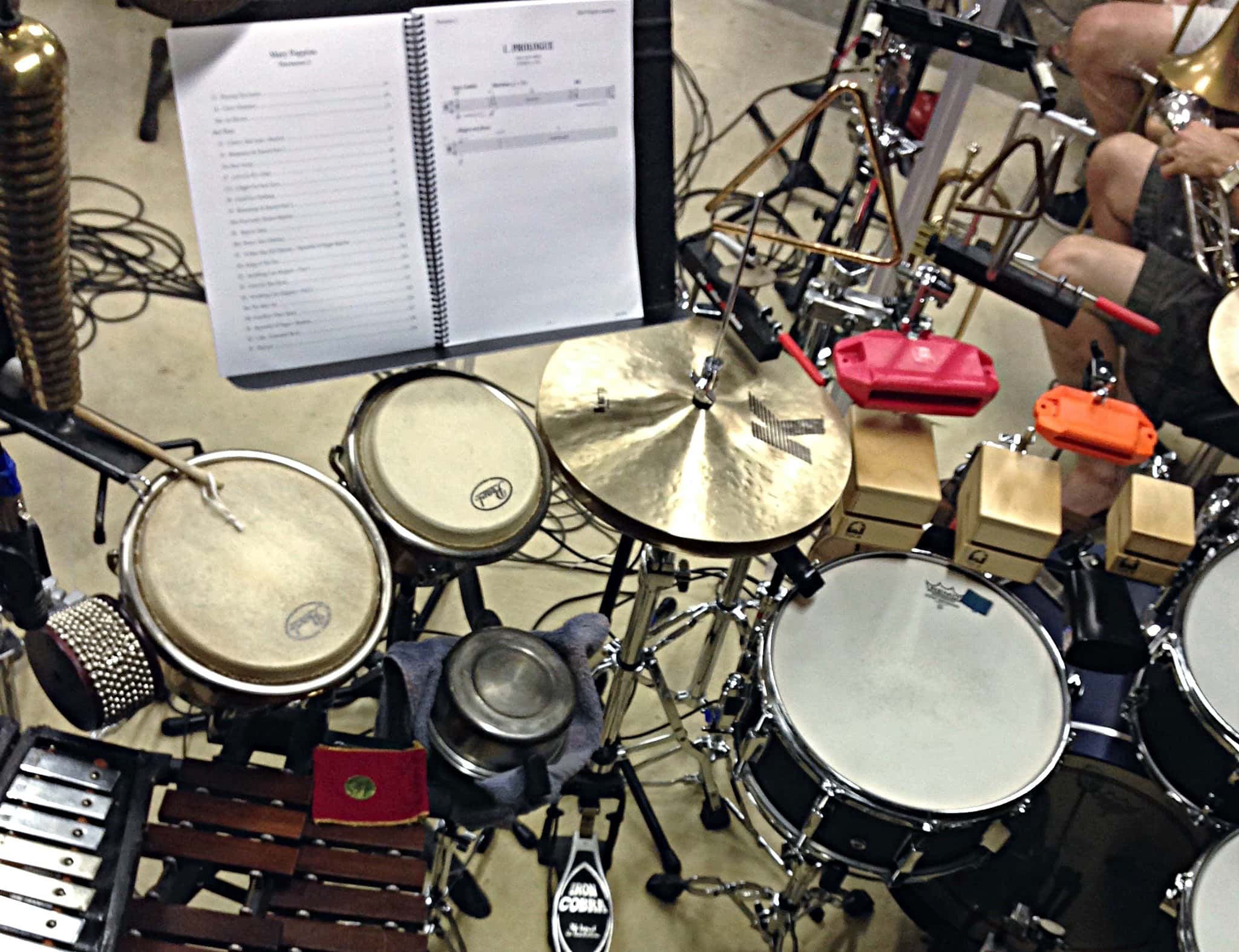 Jason Degenhardt's combined book setup for Mary Poppins at the Topeka Civic Theatre in Topeka, Kansas.