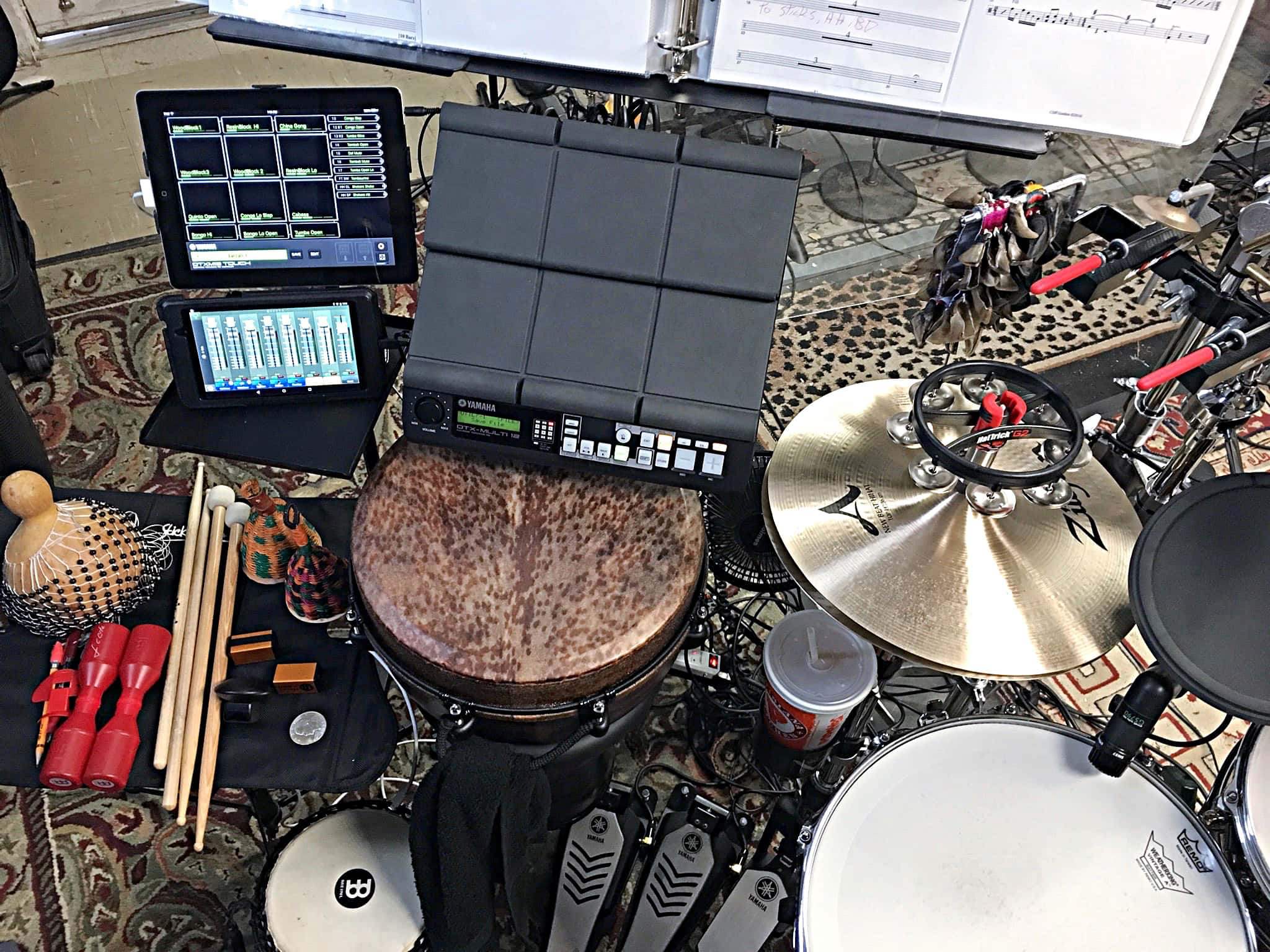 Rob Fedson's setup for Tarzan at the Palace Theatre in Georgetown, Texas (Austin area).