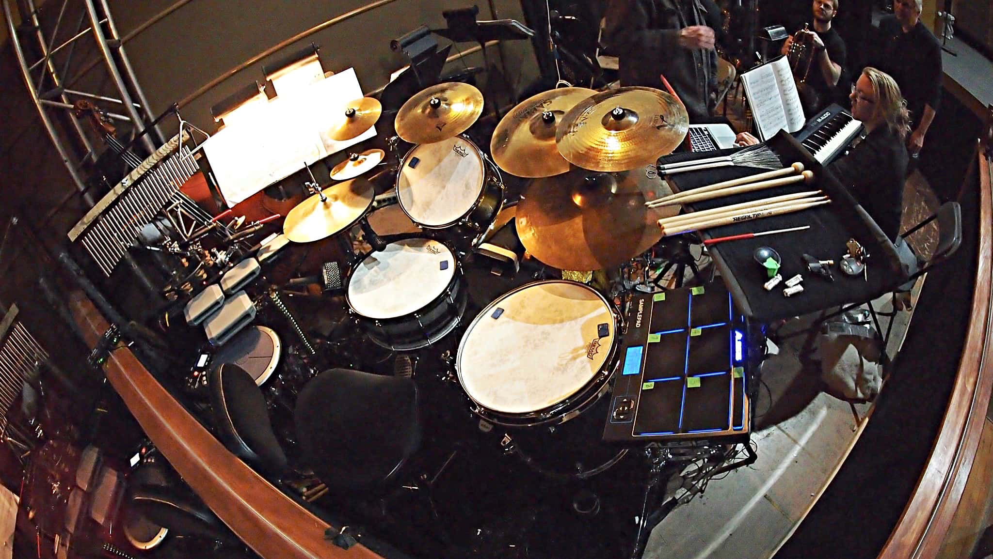 Scot Sexton's combined book setup for the Seattle Musical Theaters production of Kiss Me Kate in Seattle, Washington.