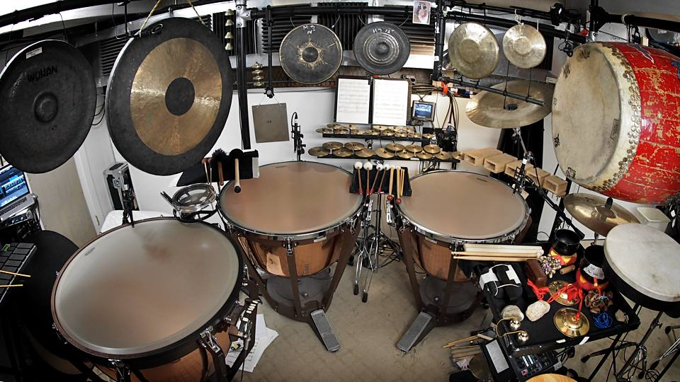 Photo of Chihiro's Setup for the Broadway Production of Miss Saigon.