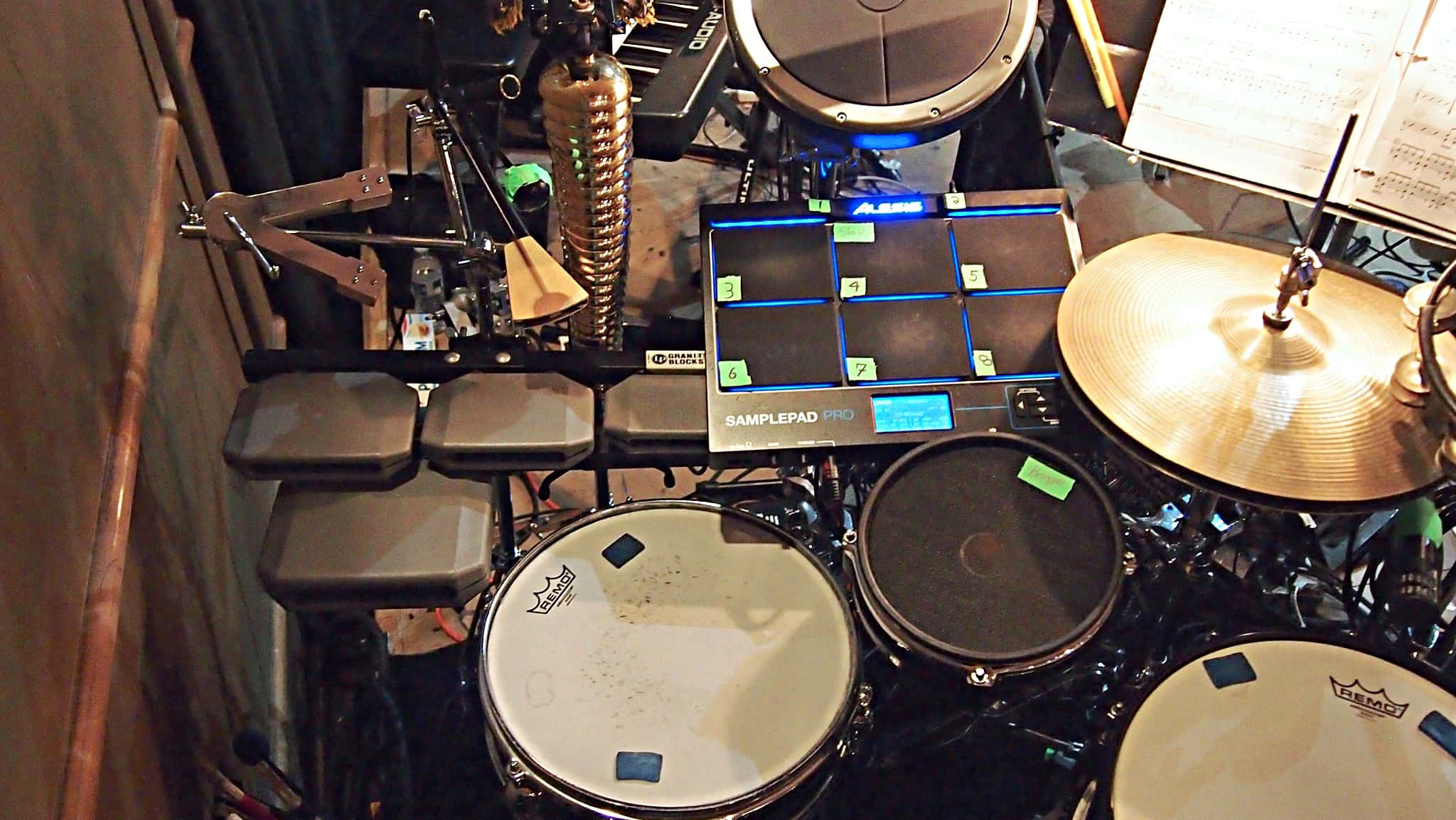 Scot Sexton's combined book setup for Seussical with Broadway Bound in Seattle, Washington.