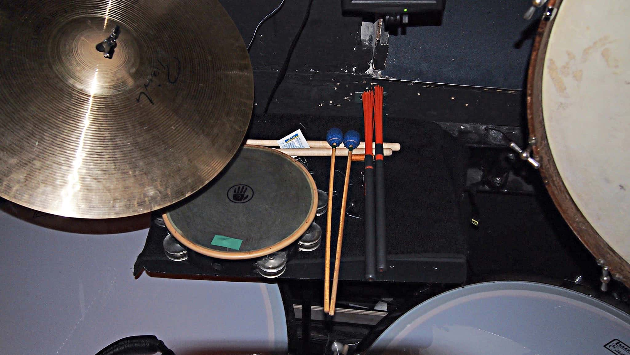 Paul Hansen's setup for Ragtime at the 5th Avenue Theatre in Seattle, Washington.