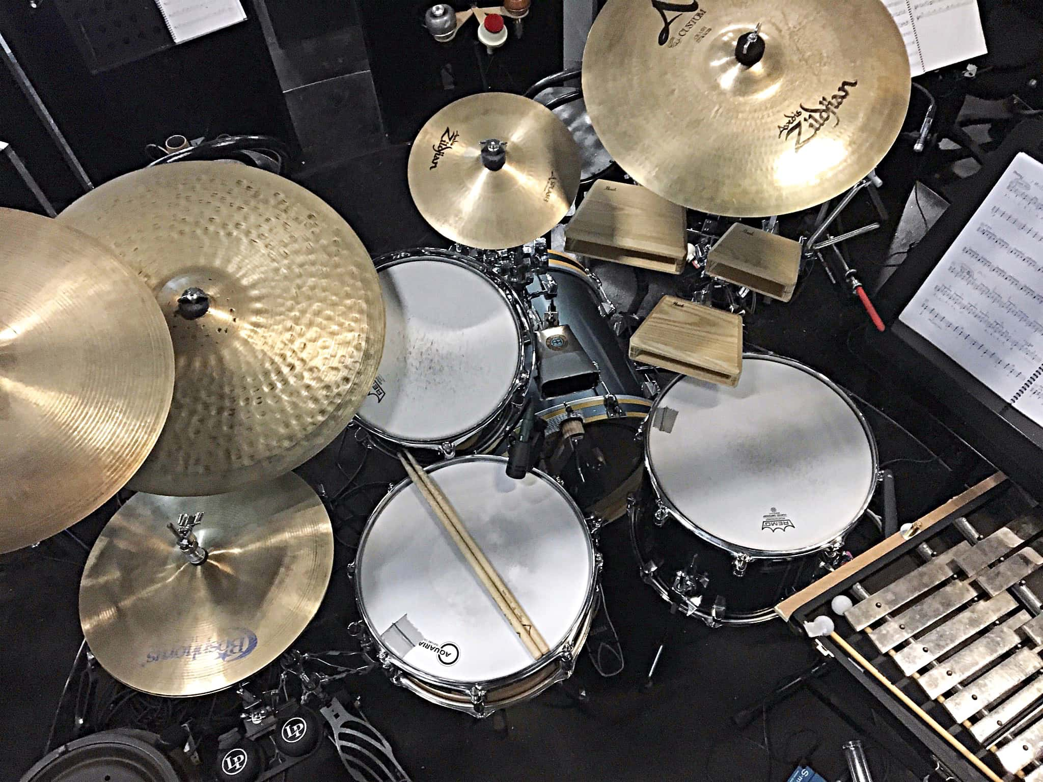 Tim Sellars' setup for Chicago at the Court Theatre in Christchurch, New Zealand.
