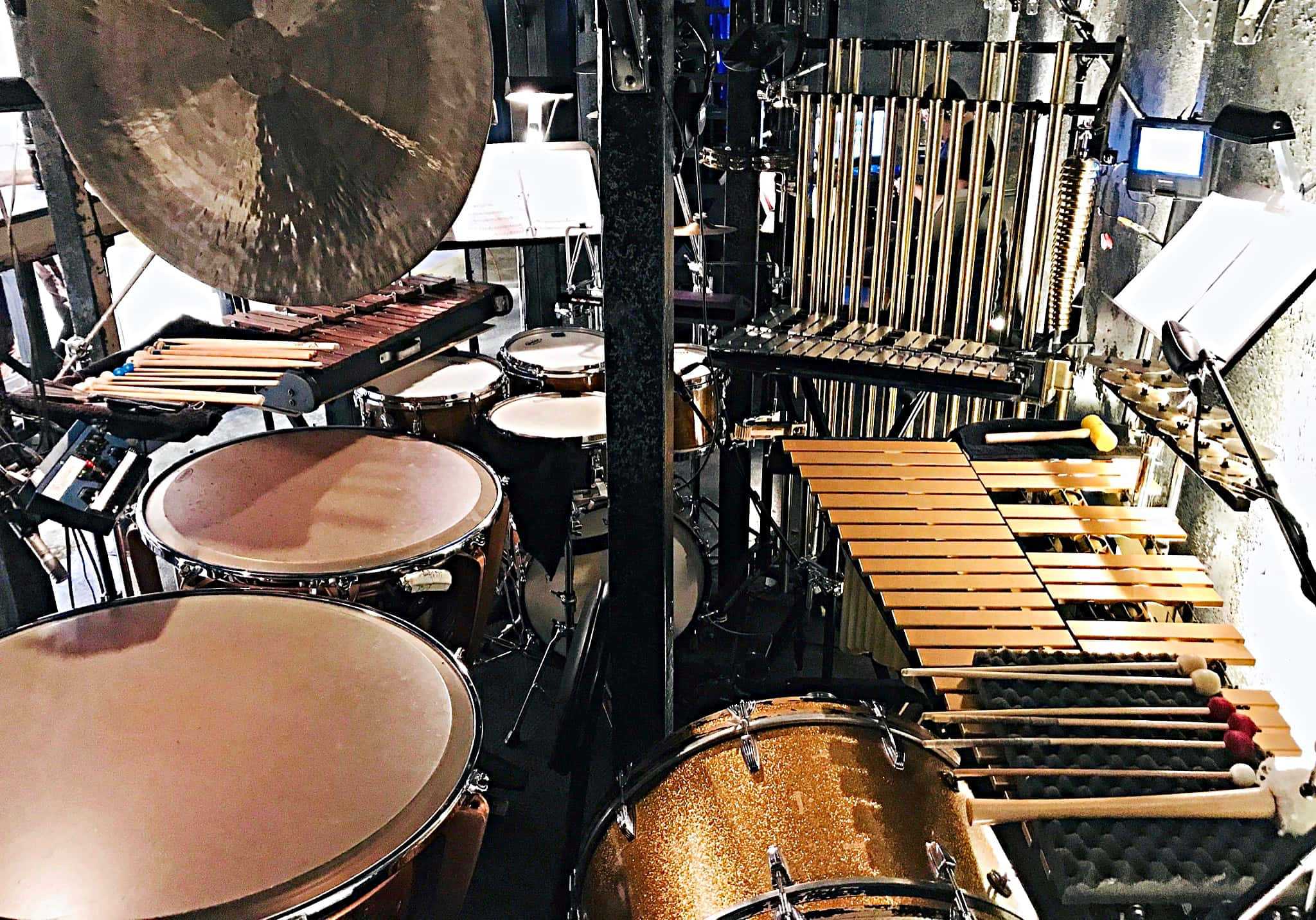 Sam Wisman's combined book setup for Sweeney Todd at Kansas City Repertory Theatre.
