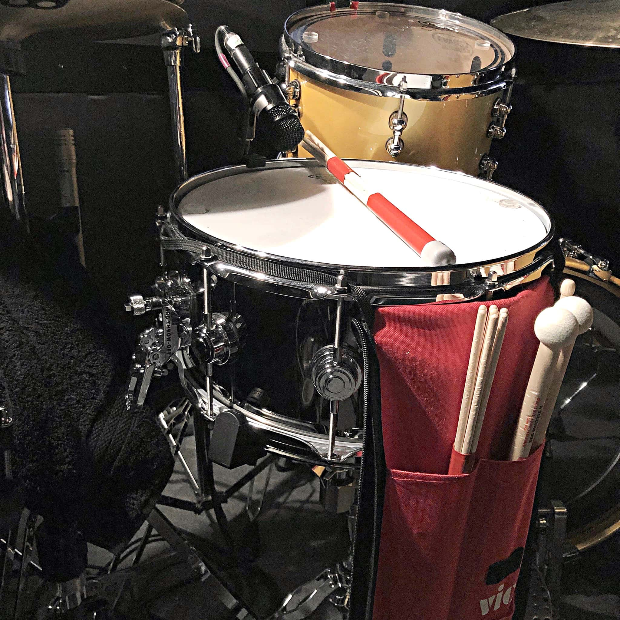 Ryan McCausland's setup for the National Tour of Dear Evan Hansen at the Paramount Theatre in Seattle, Washington.