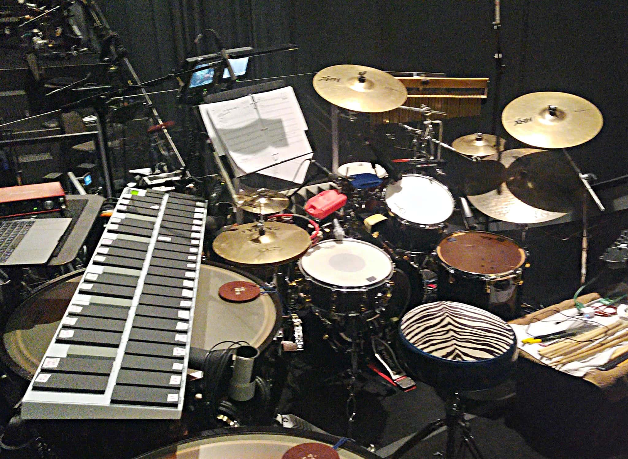 Kory Andry's setup for Guys and Dolls at the Guthrie Theater in Minneapolis, Minnesota.
