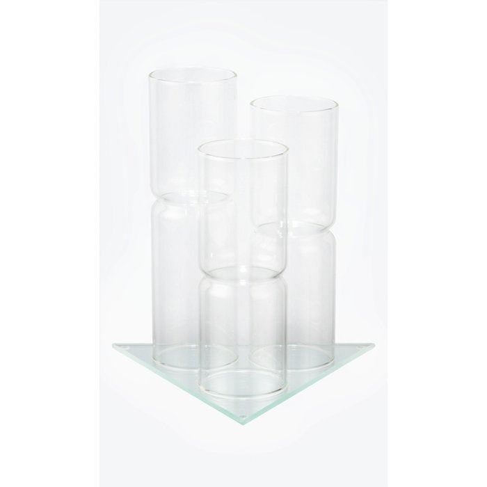 Display for 3 VitaJuwel Gemstone Vials (Glass)