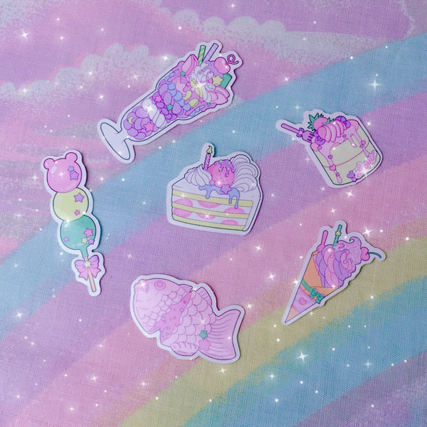 Kawaii Sweets Sticker Set