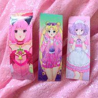 Magical Girl Bookmark Sticker - Choose 1 or Set