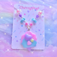 Cotton Candy Necklace III